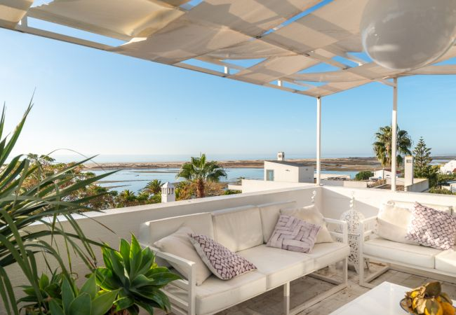 Apartamento en Vila Nova de Cacela - Atico con vistas al mar cerca playa Algarve