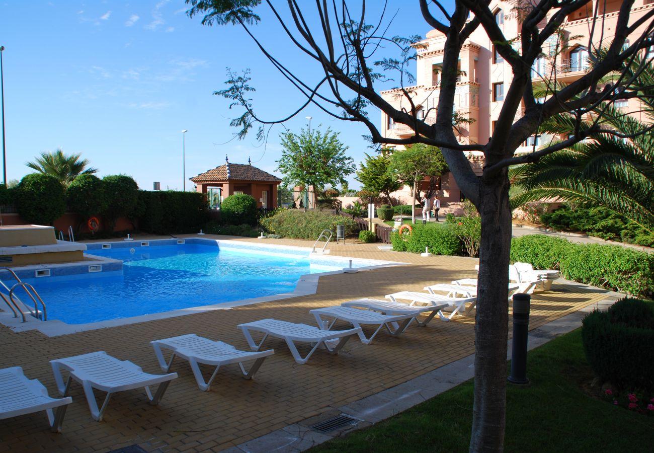 Apartamento en Punta del Moral - Apartamento con piscina en Punta del Moral