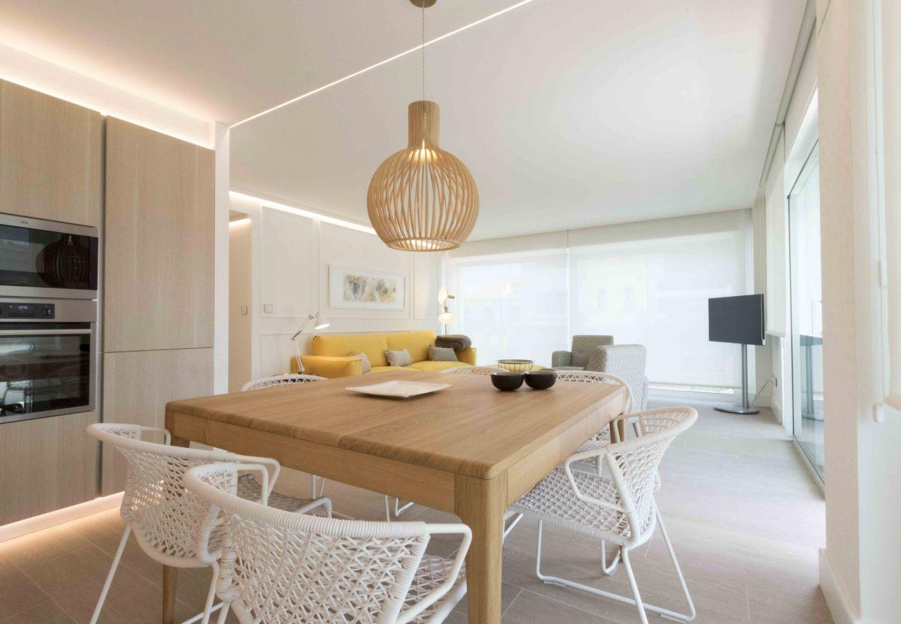 Apartamento en San Sebastián - Apartamento para 6 personas a100 mde la playa