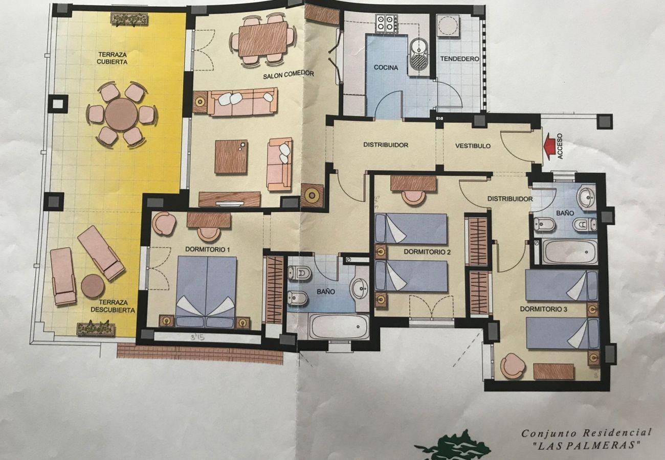 Apartamento en Punta del Moral - Apartamento para 7 personas en Punta del Moral