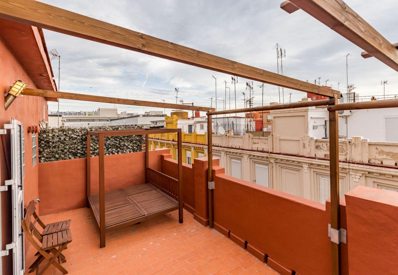 Apartamento en Valencia - TH Marítim Ático