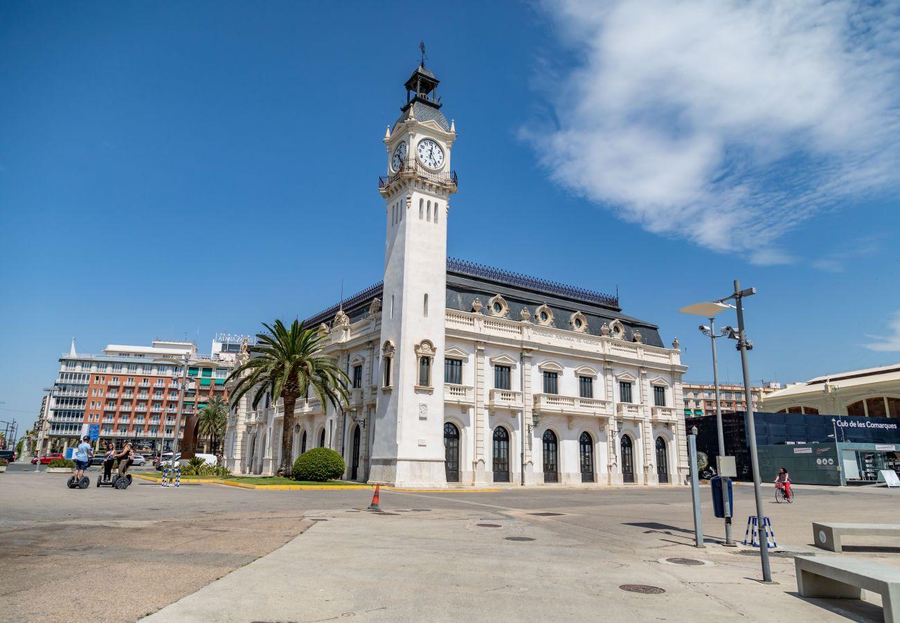 Apartamento en Valencia - TH Marítim 1-2