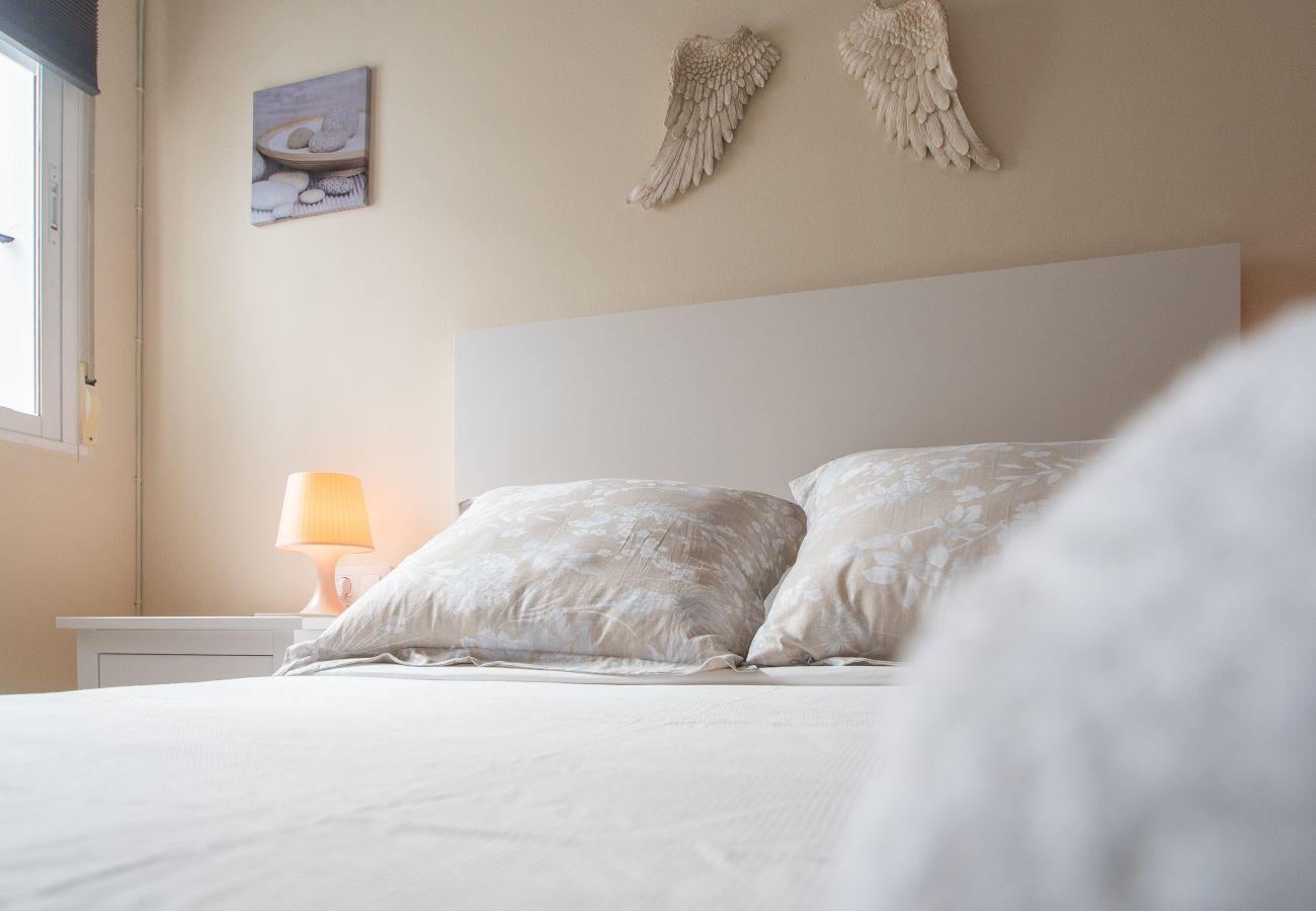 Apartamento en Cádiz - Apartamento con aire acondicionado a400 mde la playa