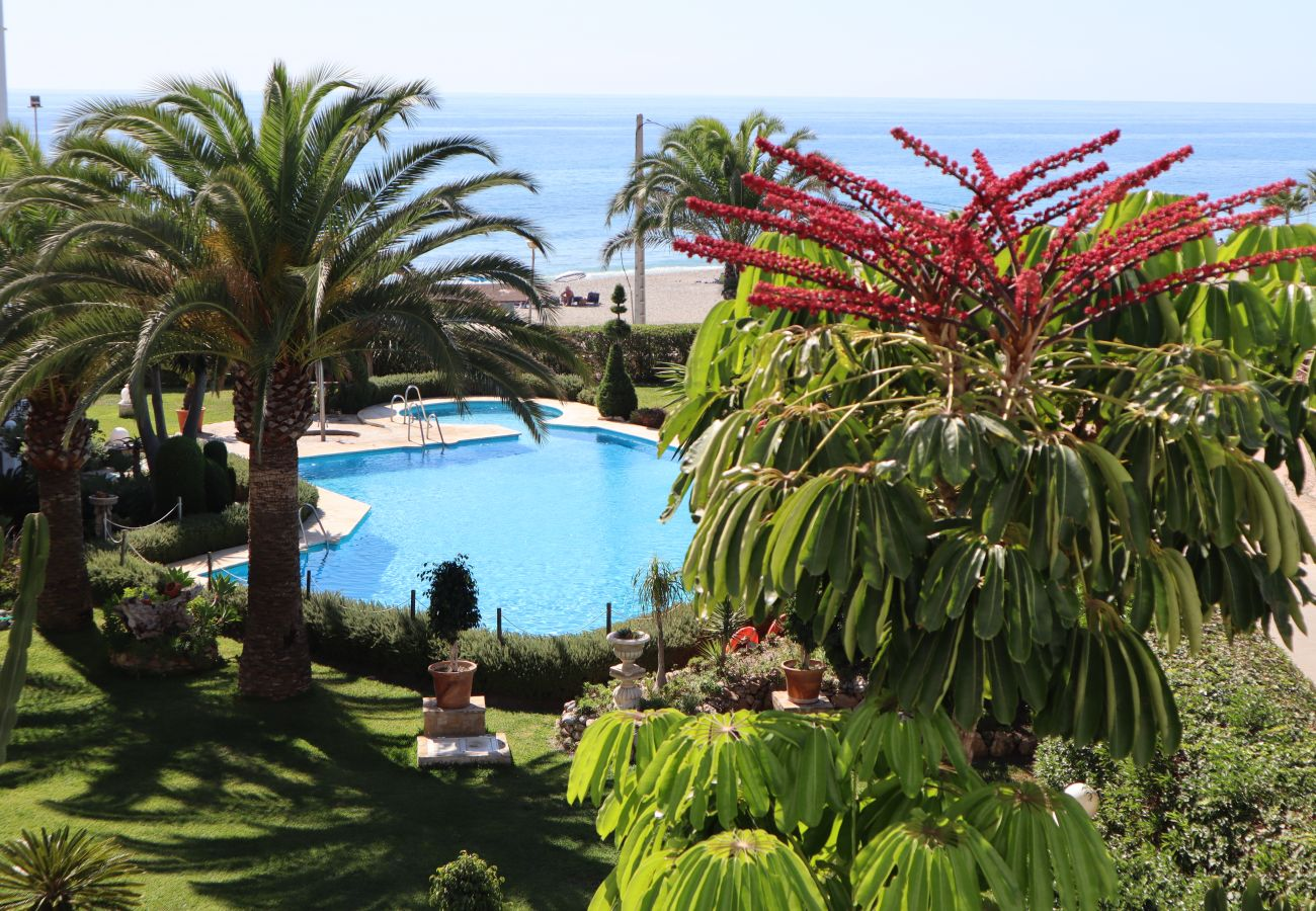Apartamento en Nerja - Apartamento con piscina a50 mde la playa