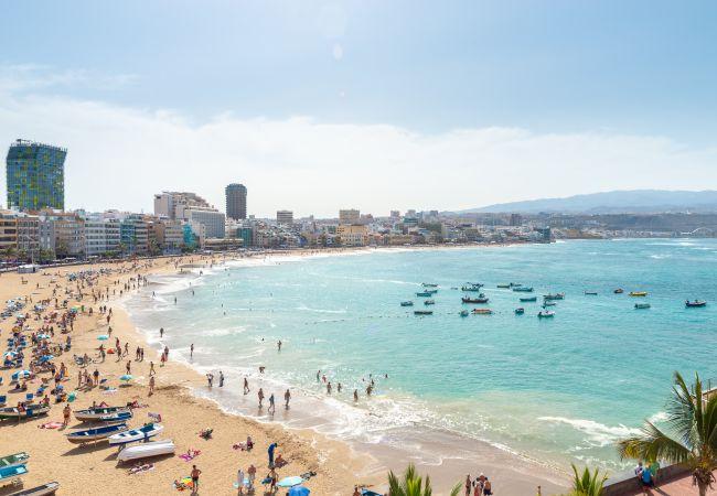 Estudio en Las Palmas de Gran Canaria - Estudio nuevo en la playa de Las Canteras by Lightbooking