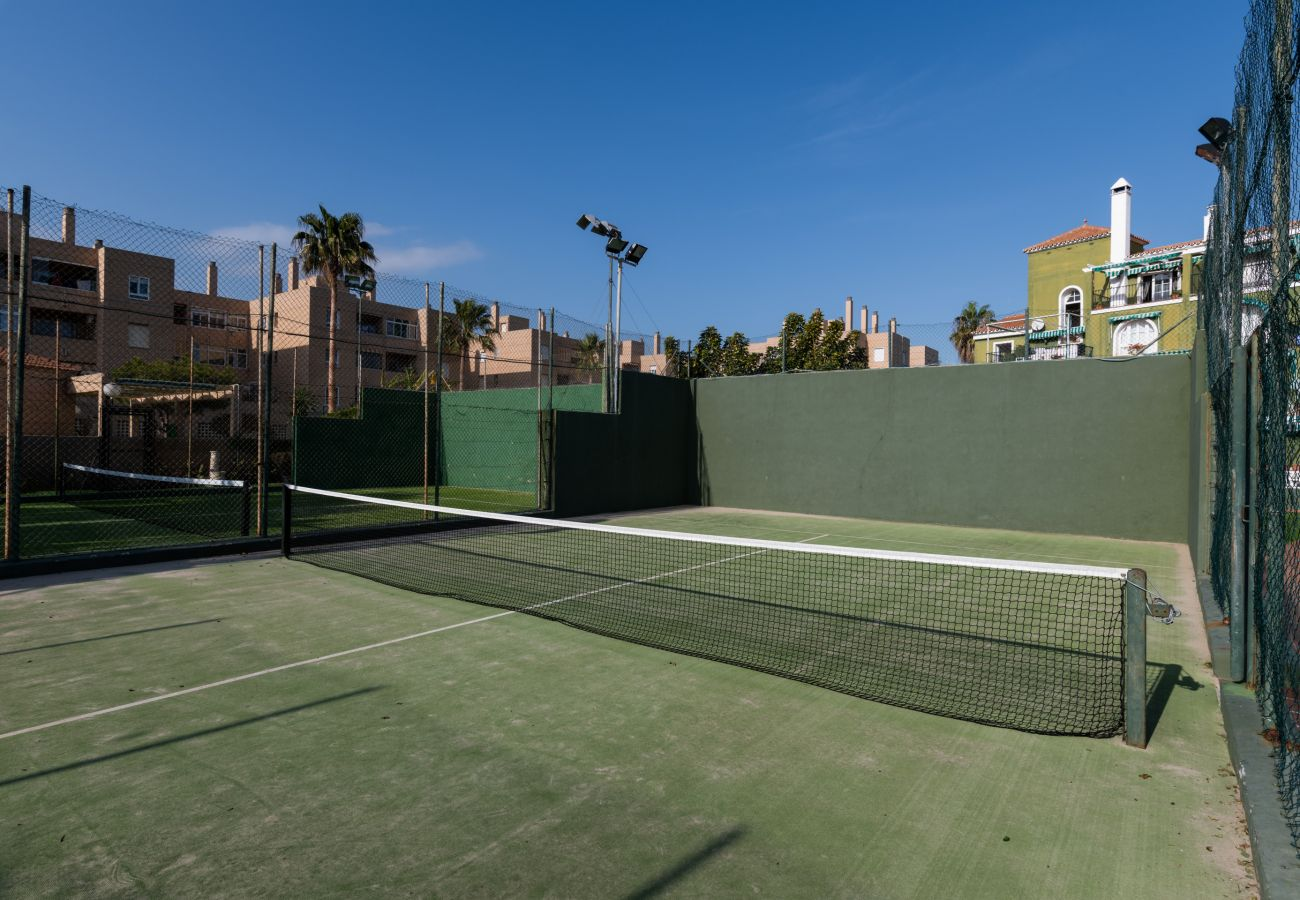 Apartamento en Málaga - iloftmalaga Duplex Guadalmar con terraza en primera linea de playa