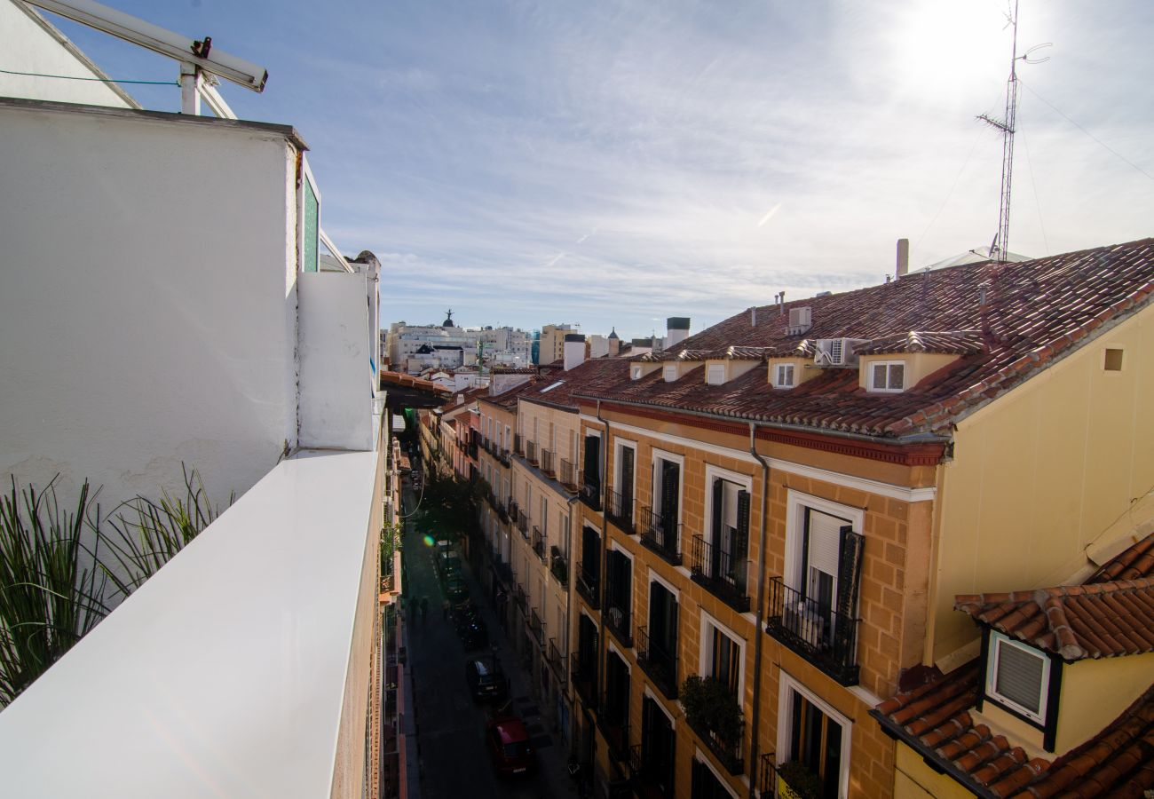 Apartamento en Madrid - Ático - Terraza 15m2 - CHUECA- 4 PAX