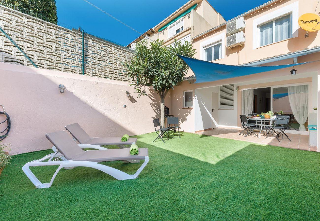 Casa en Palma de Mallorca - Casa de 3 dormitorios a280 mde la playa