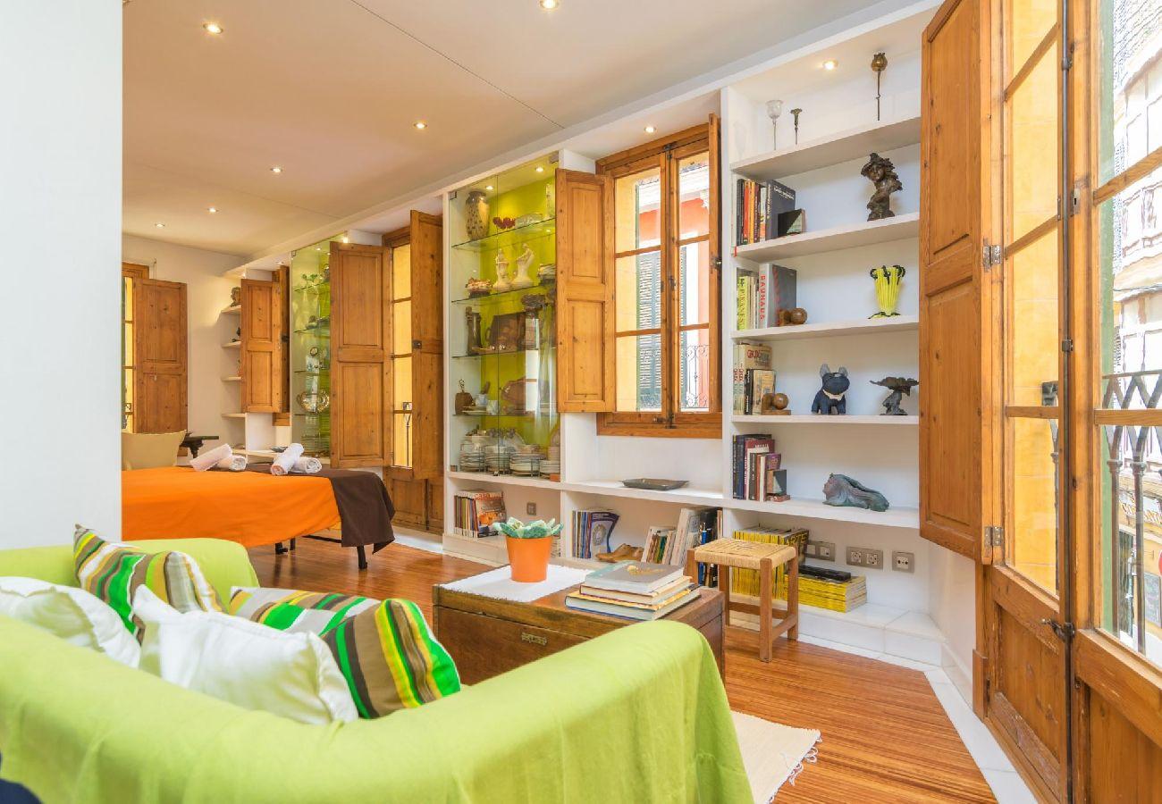 Casa en Palma de Mallorca - Casa con aire acondicionado a1 kmde la playa