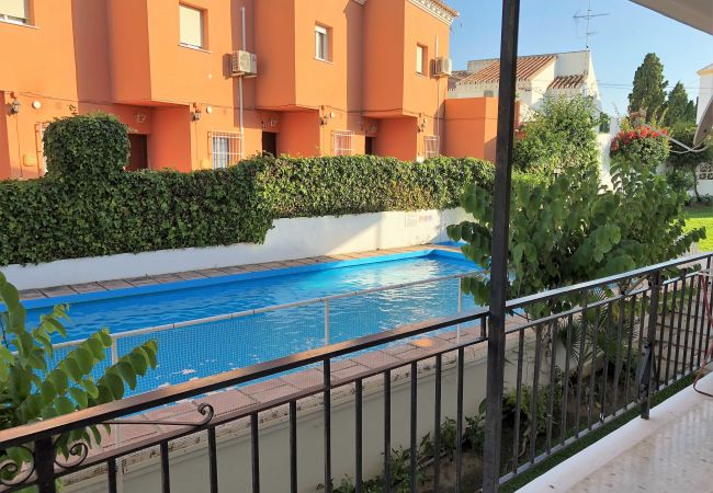 Apartment in Nerja - Apartment of 2 bedrooms to600 mbeach