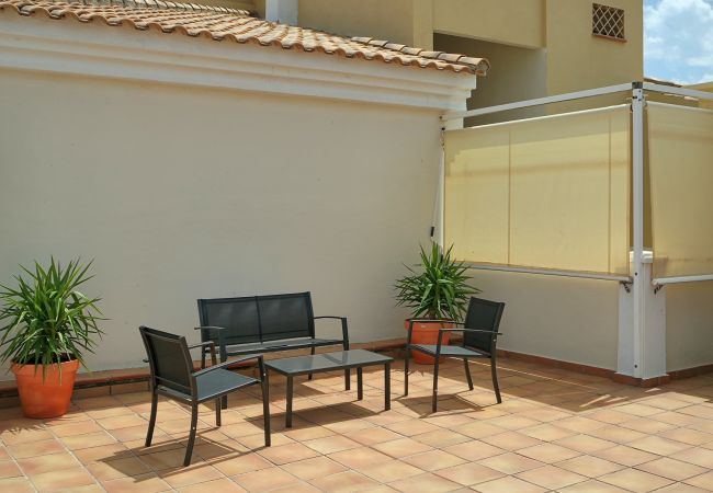 Apartment in Punta del Moral - Apartment of 2 bedrooms to50 mbeach