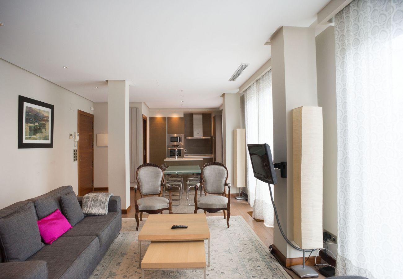 Apartment in San Sebastián - Apartment of 2 bedrooms to50 mbeach