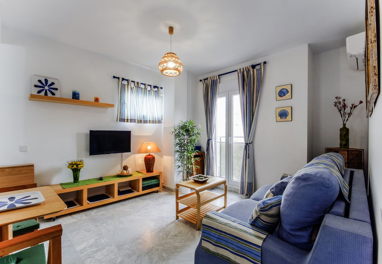 Apartment in Cádiz - Apartment with air-conditioned to300 mbeach