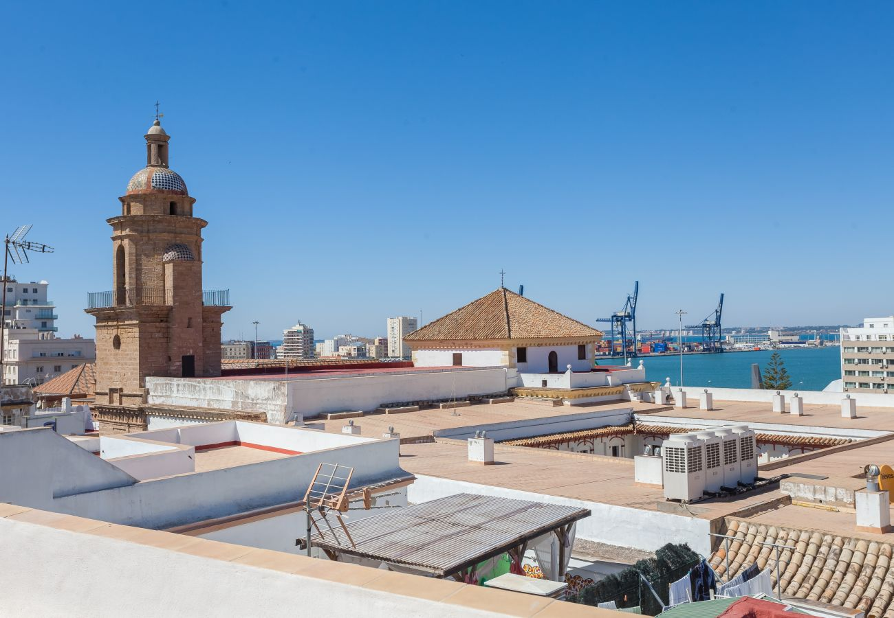 Apartment in Cádiz - Apartment of 2 bedrooms to 700 m beach
