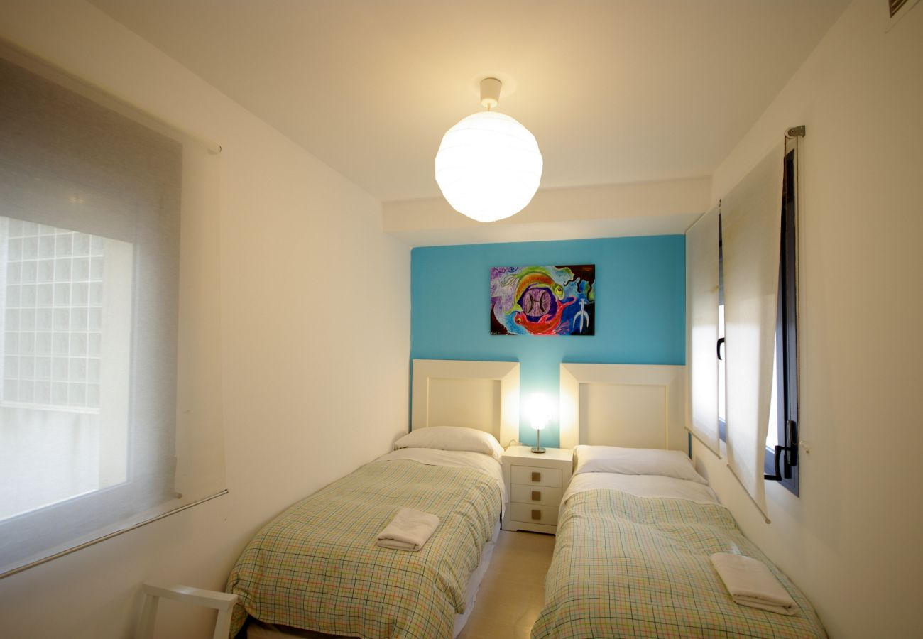 Apartment in Tarifa - Apartment for 4 people to30 mbeach