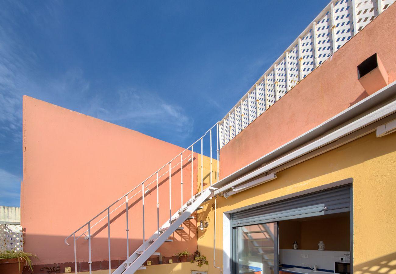 Apartment in Cádiz - Apartment of 1 bedrooms to700 mbeach