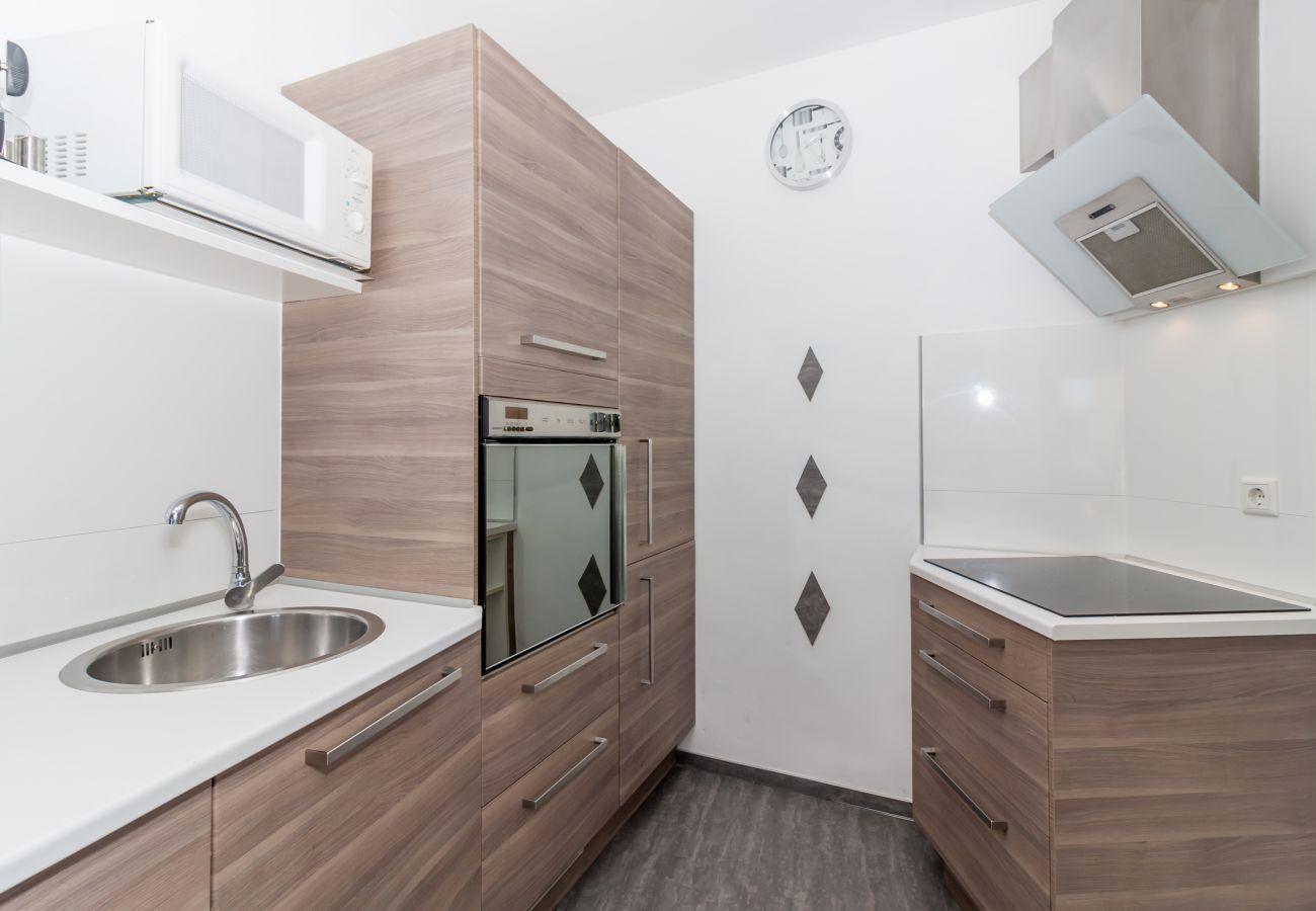 Residence in Nerja - Residence of 1 bedrooms to10 mbeach