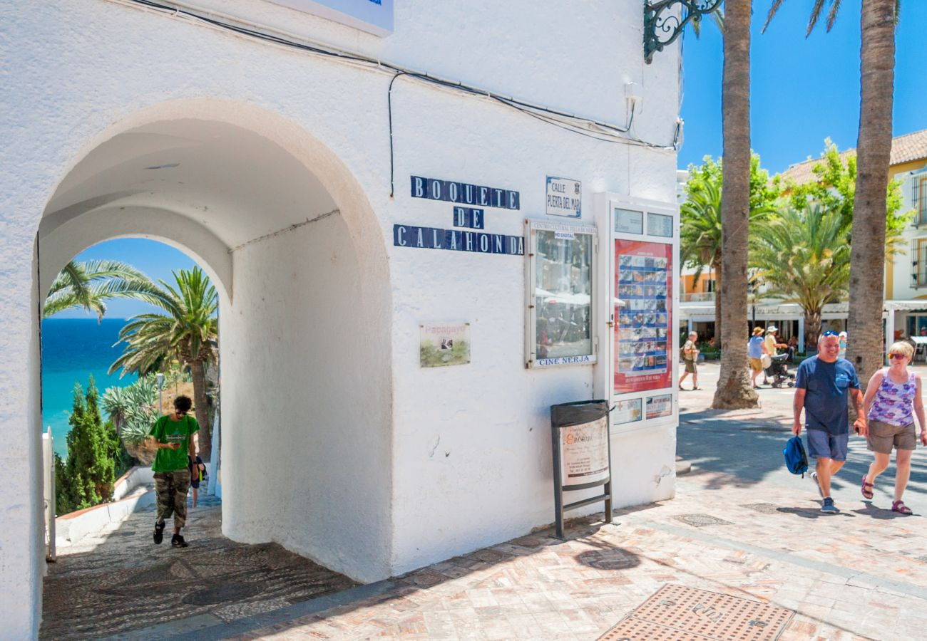 Apartment in Nerja - Apartment with air-conditioned to100 mbeach