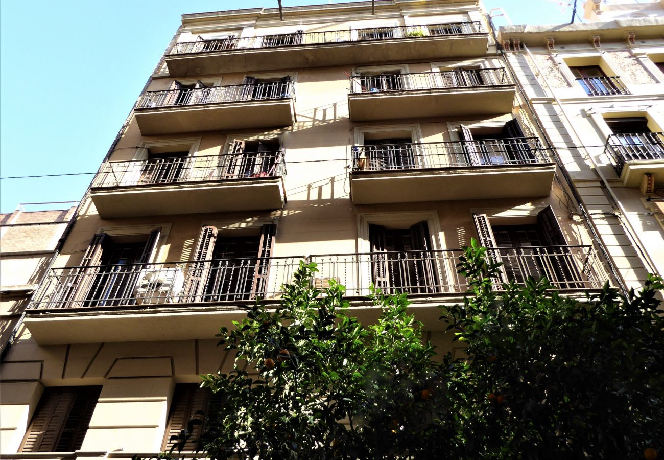 Apartment in Barcelona - GRACIA ROSE, cozy, sunny 4 bedrooms flat for rent by days in Barcelona center, Gracia