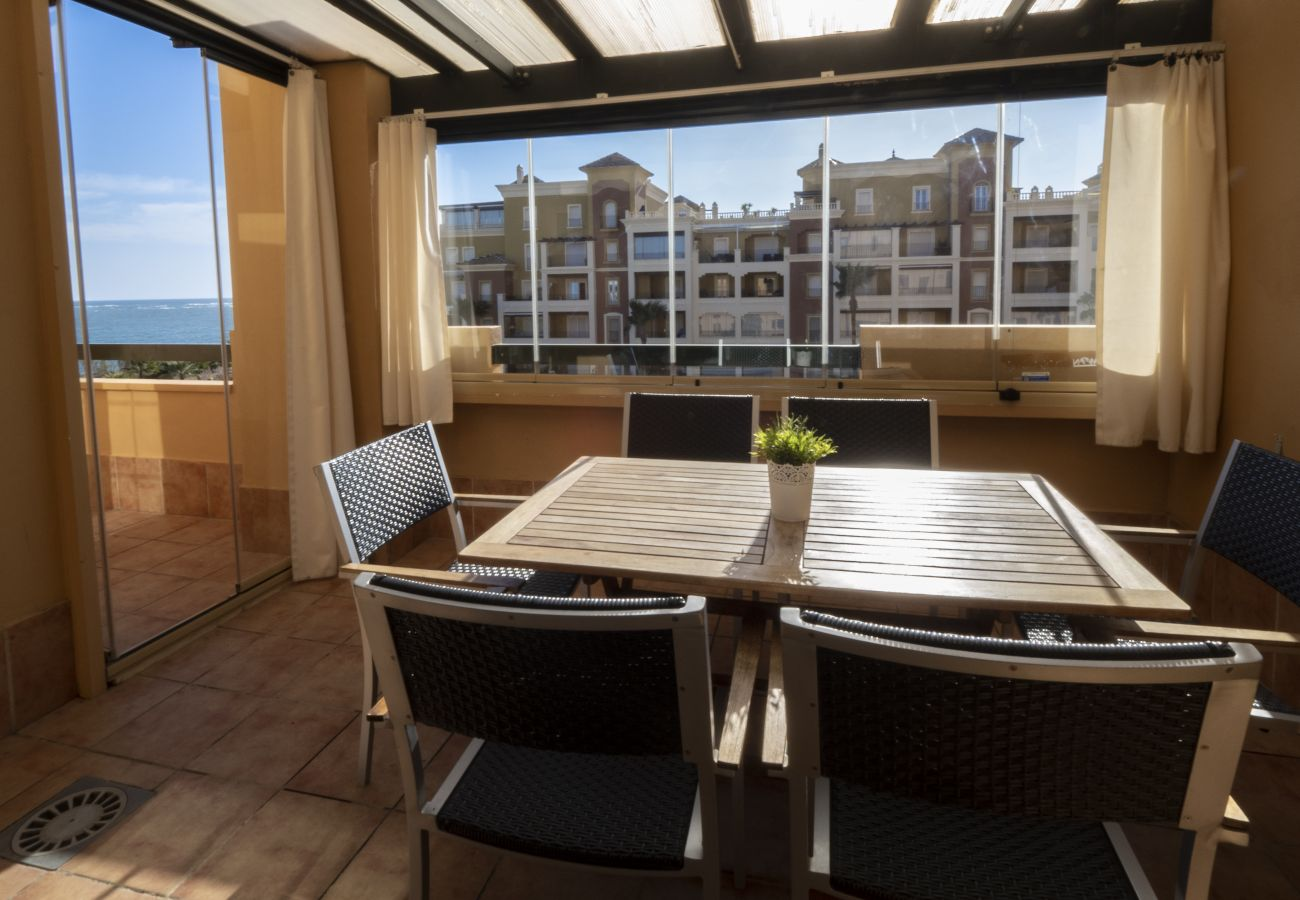 Apartment in Isla Canela - Apartment with swimmingpool to100 mbeach