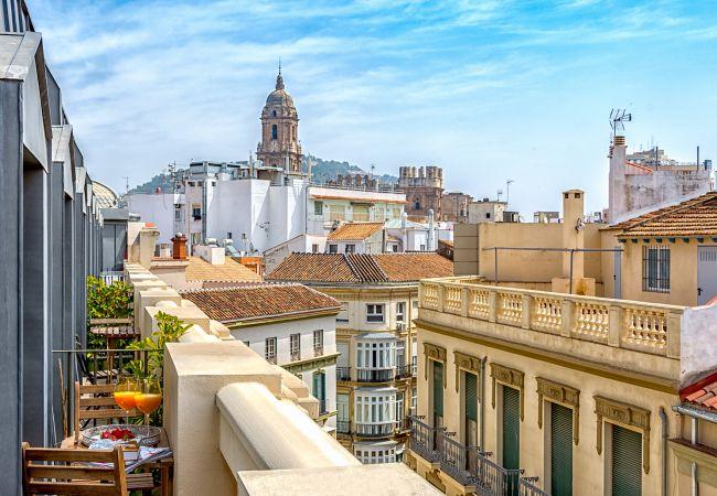 Apartment in Málaga - iloftmalaga Ático Plaza Felix Saenz