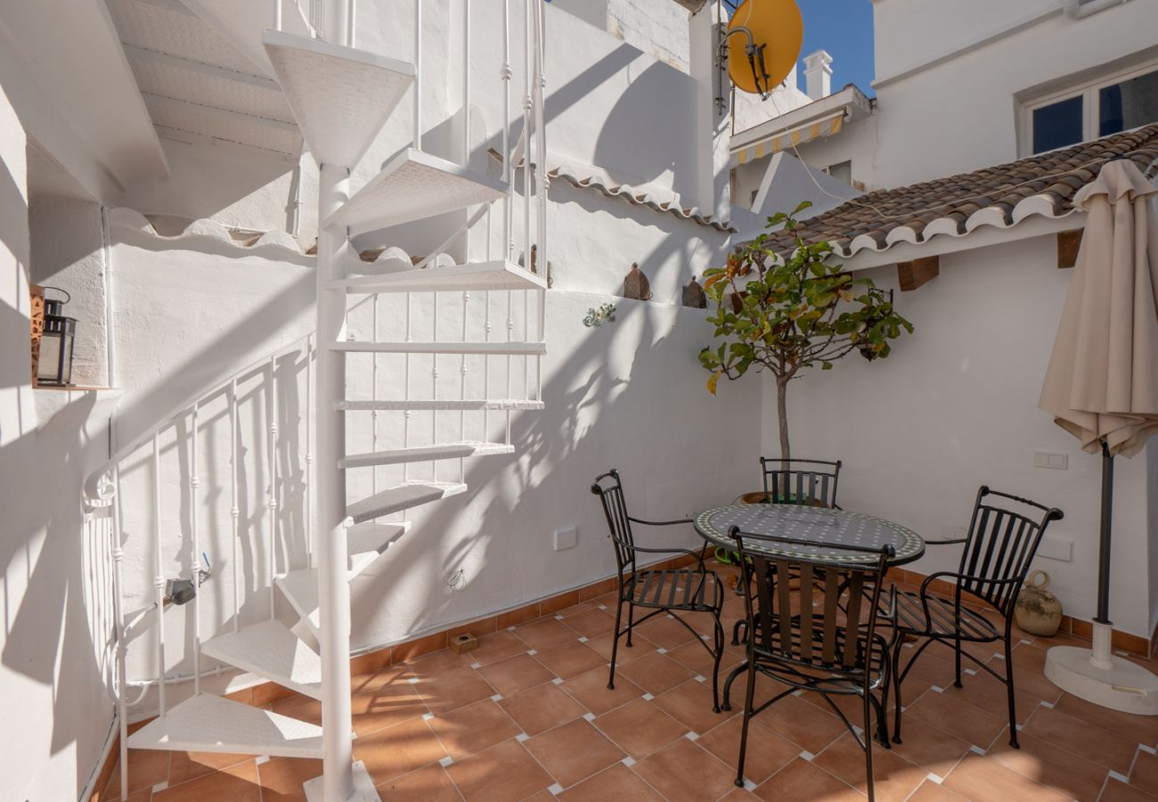 House in Nerja - House with air-conditioned to200 mbeach