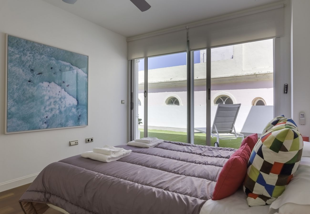 Apartment in Cádiz - Apartment with air-conditioned in Cádiz