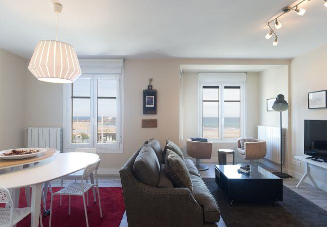 Apartment in San Sebastián - Apartment for 7 people to50 mbeach