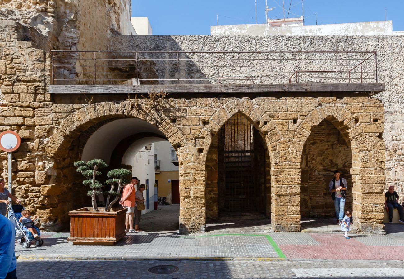 Apartment in Cádiz - Apartment of 1 bedrooms to1 kmbeach