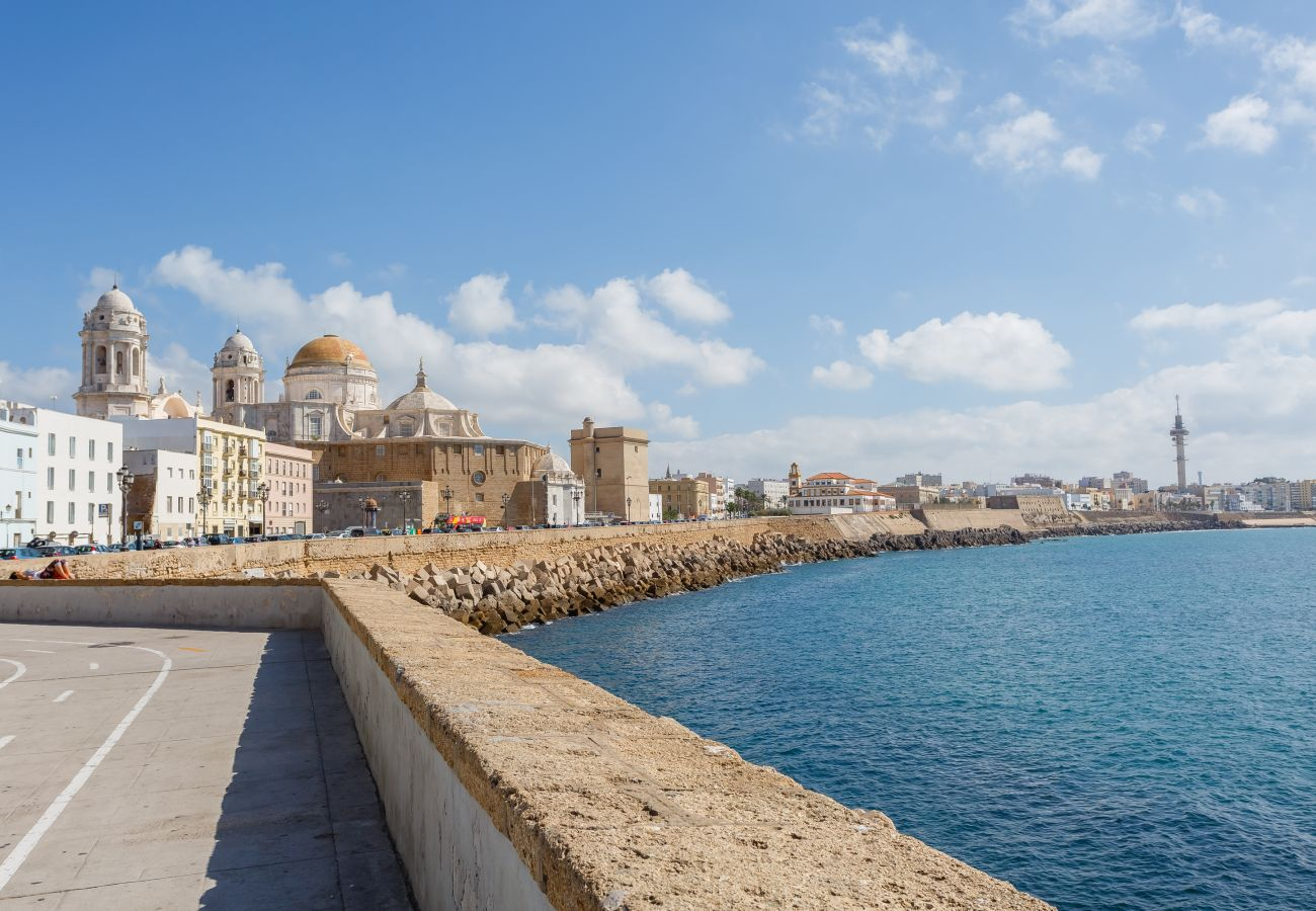 Apartment in Cádiz - Apartment for 5 people to900 mbeach
