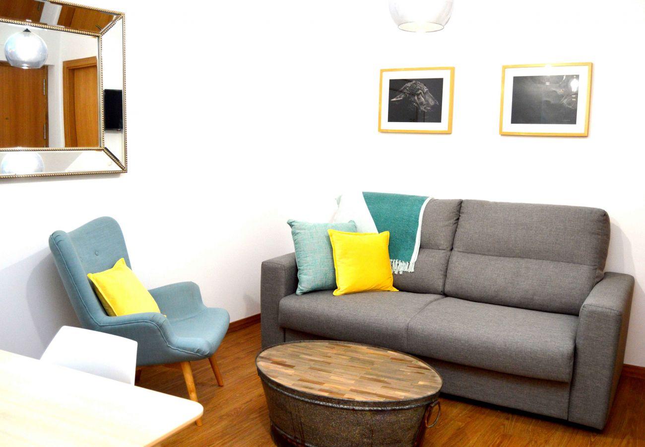 Apartment in Cádiz - Apartment of 1 bedrooms to600 mbeach