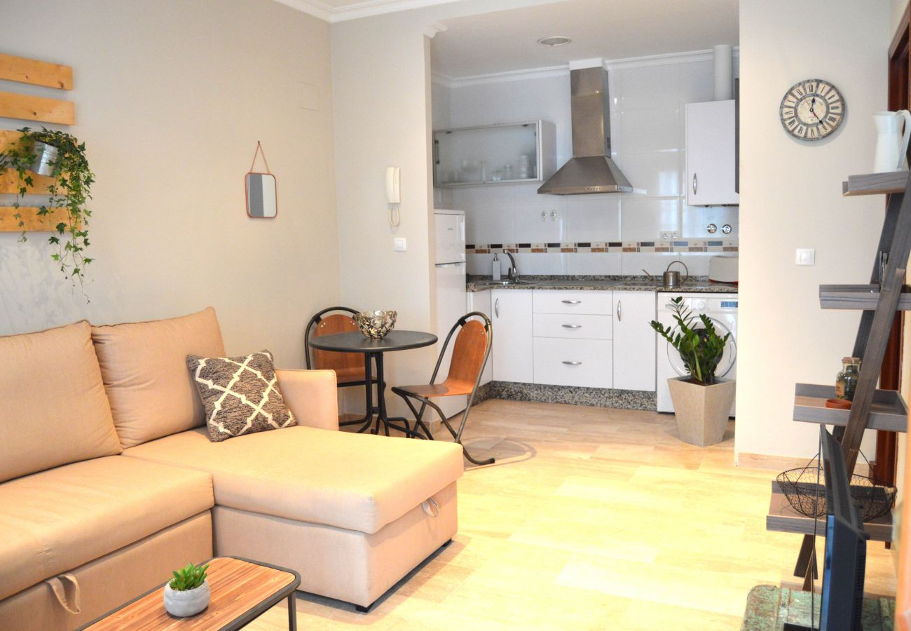 Apartment in Cádiz - Apartment of 1 bedrooms to150 mbeach