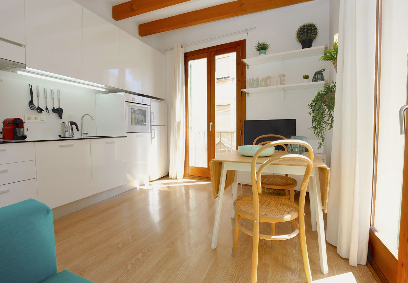 Apartment in Palma de Mallorca - Apartment with air-conditioned to 2 km beach
