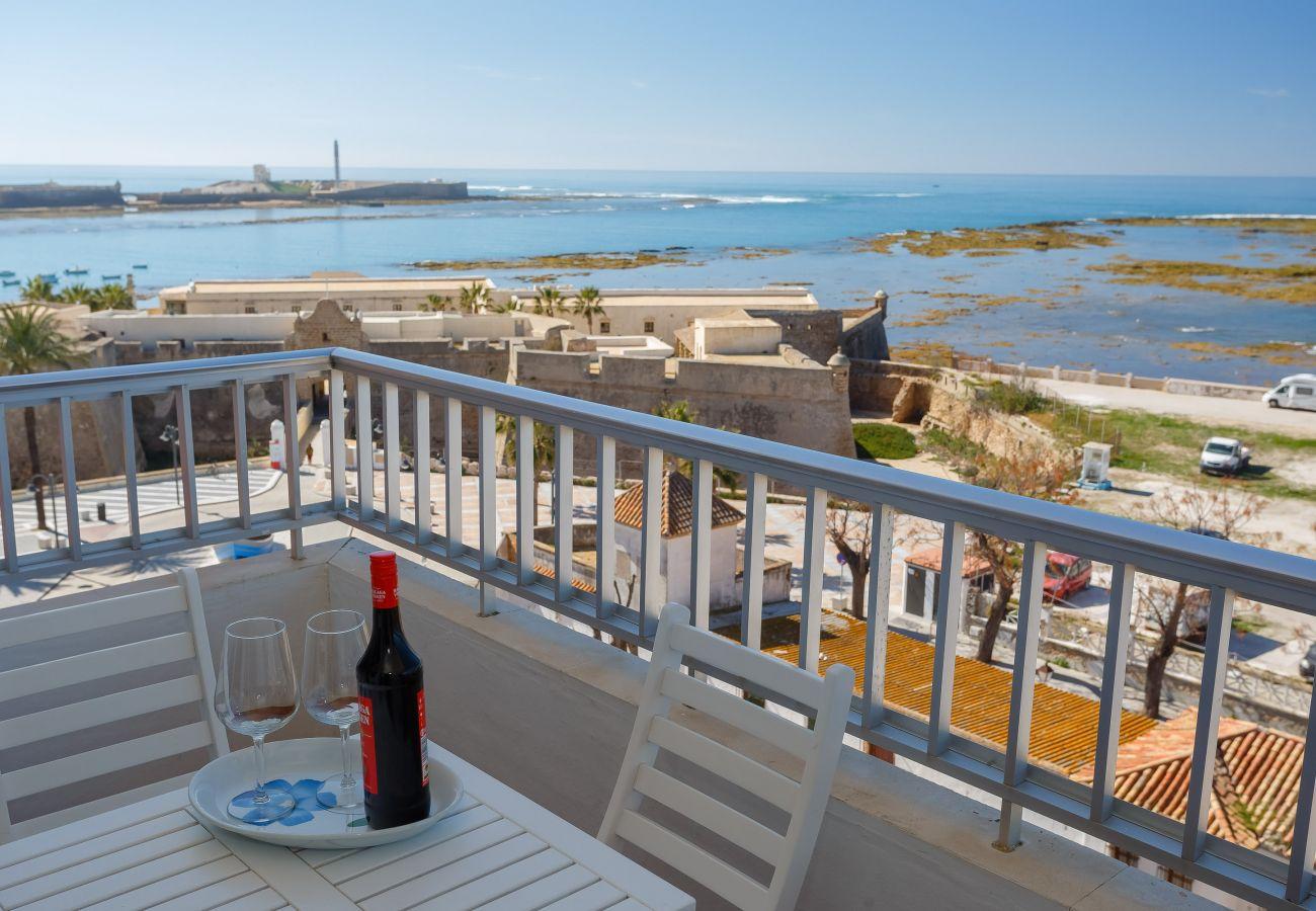 Apartment in Cádiz - Apartment of 4 bedrooms to150 mbeach