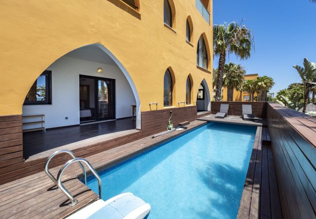 Apartment in Punta del Moral - Apartment with swimmingpool to60 mbeach