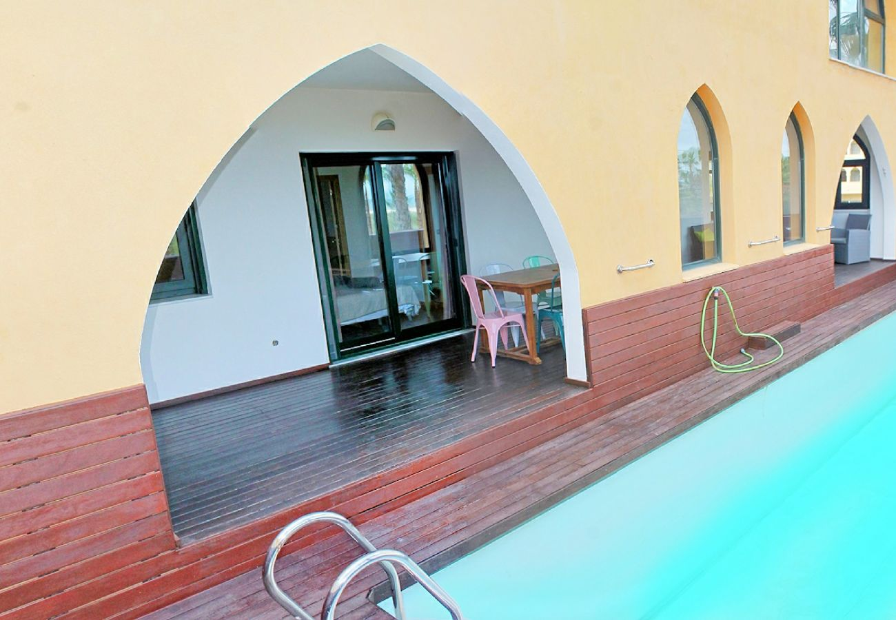 Apartment in Punta del Moral - Apartment with swimming pool to60 mbeach
