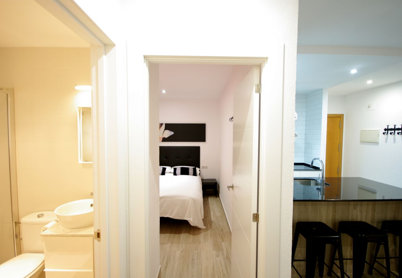 Apartment in Tarifa - Apartment for 4 people to20 mbeach