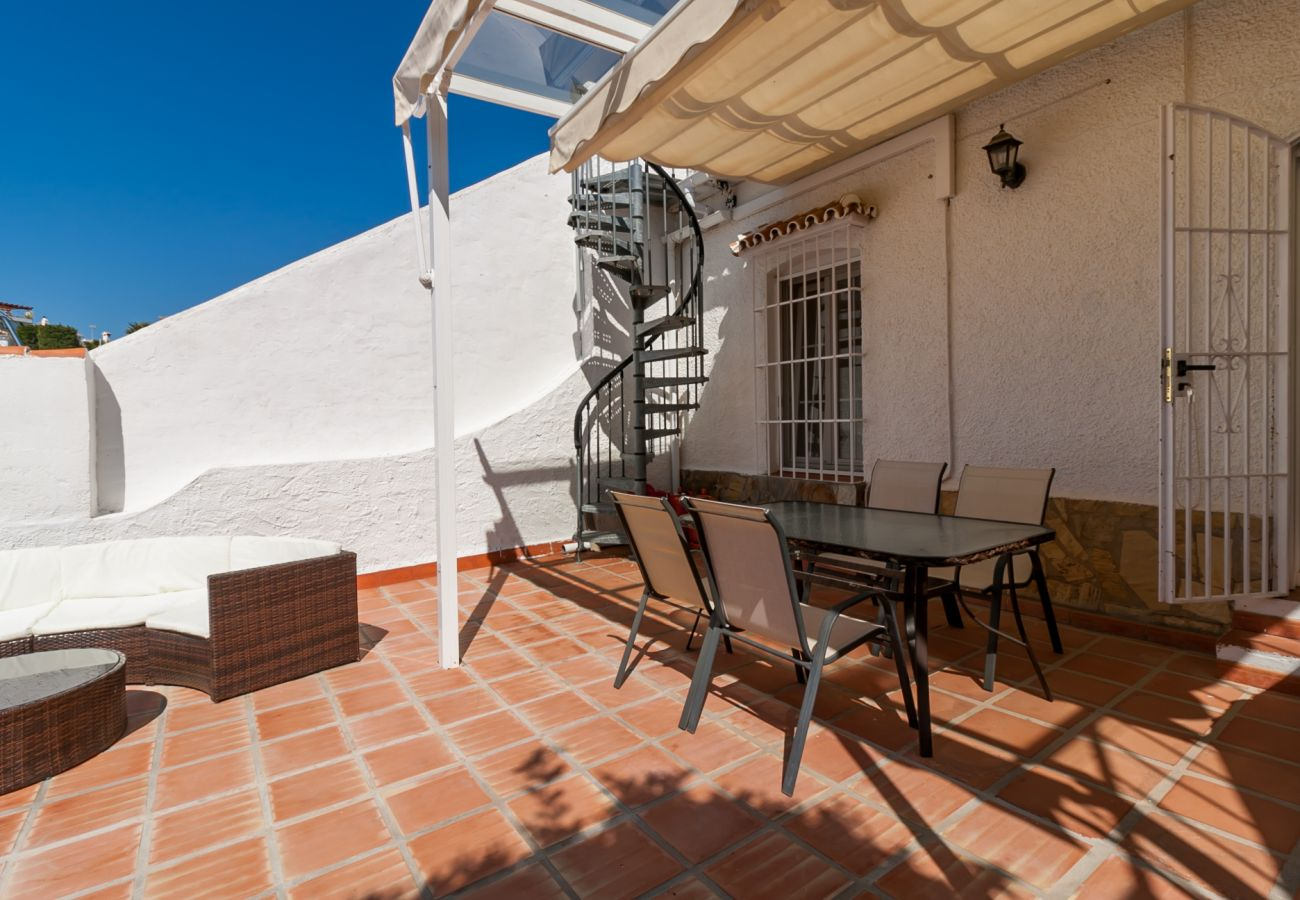 Townhouse in Nerja - Townhouse with air-conditioned to500 mbeach