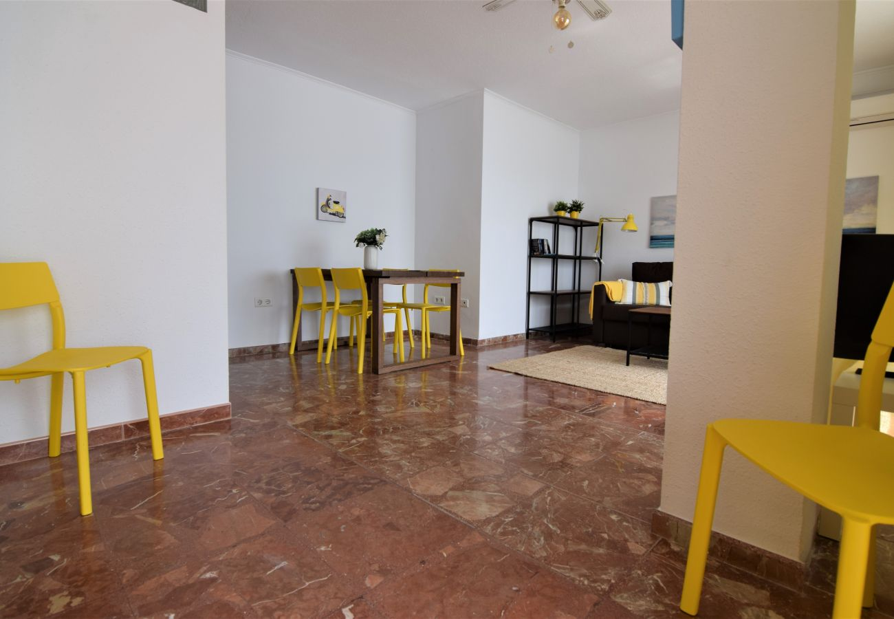 Apartment in Nerja - Apartment with swimmingpool to20 mbeach
