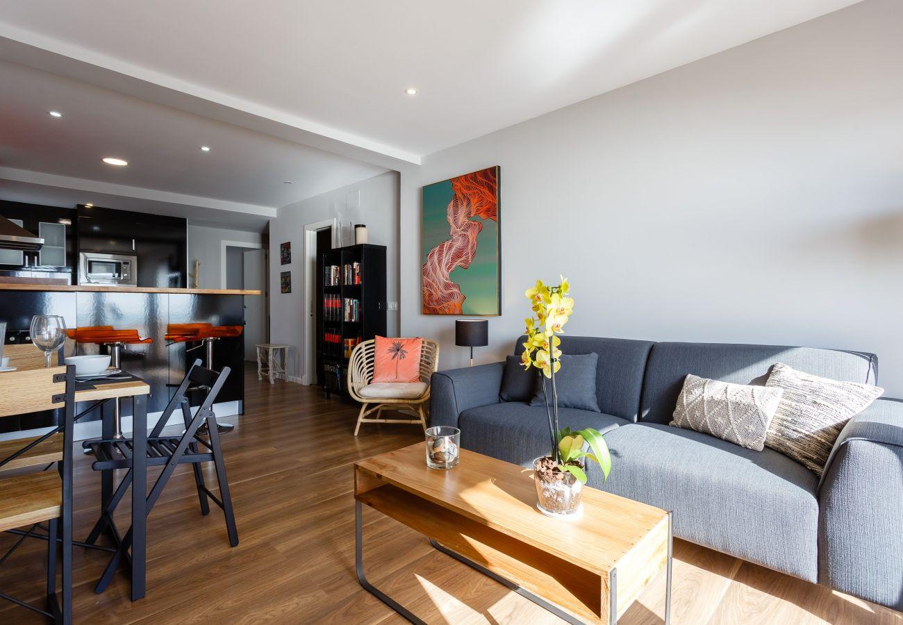 Apartment in Cádiz - Apartment of 2 bedrooms to350 mbeach
