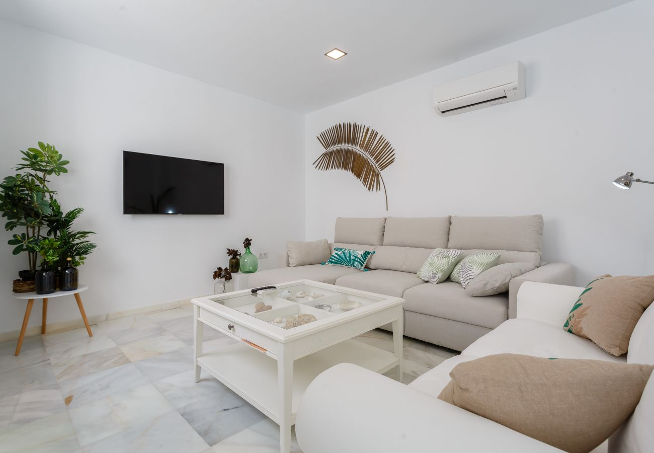 Apartment in Cádiz - Apartment with air-conditioned to 650 m beach