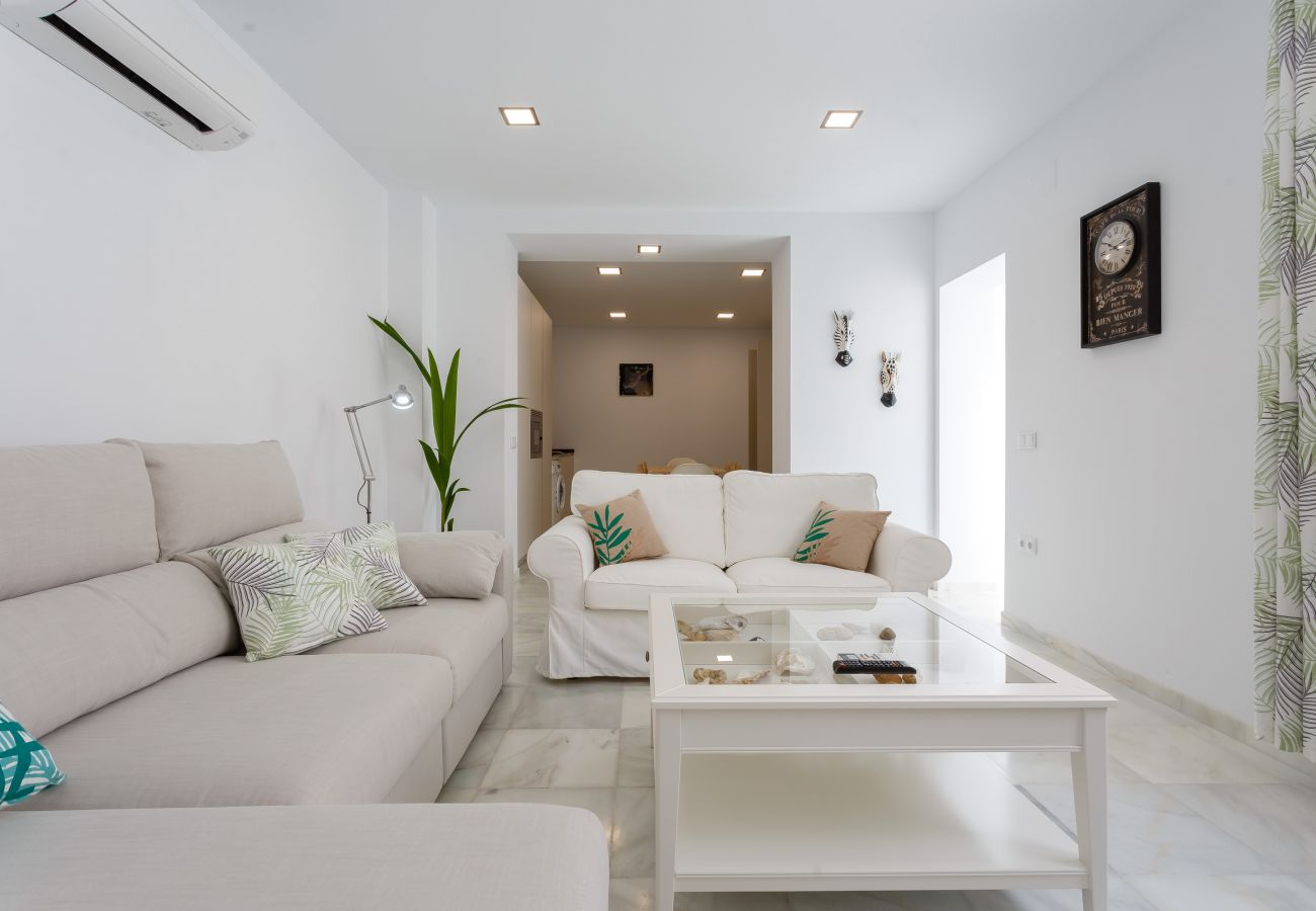 Apartment in Cádiz - Apartment with air-conditioned to650 mbeach