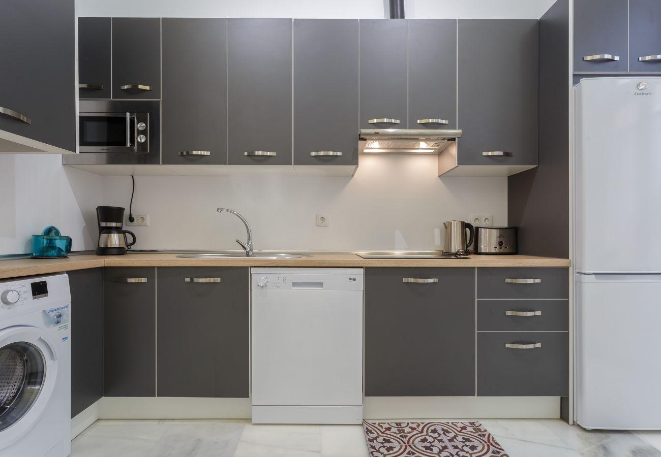 Apartment in Cádiz - Apartment of 2 bedrooms to650 mbeach