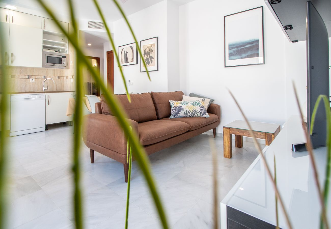Apartment in Cádiz - Apartment with air-conditioned to250 mbeach