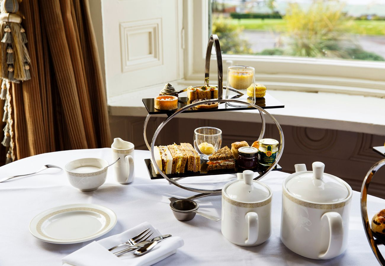 Afternoon Tea at Manor House Country Fermanagh one of the many places you can eat along Lough Erne - Manor Marine Noble Cadet 2/4 Berth