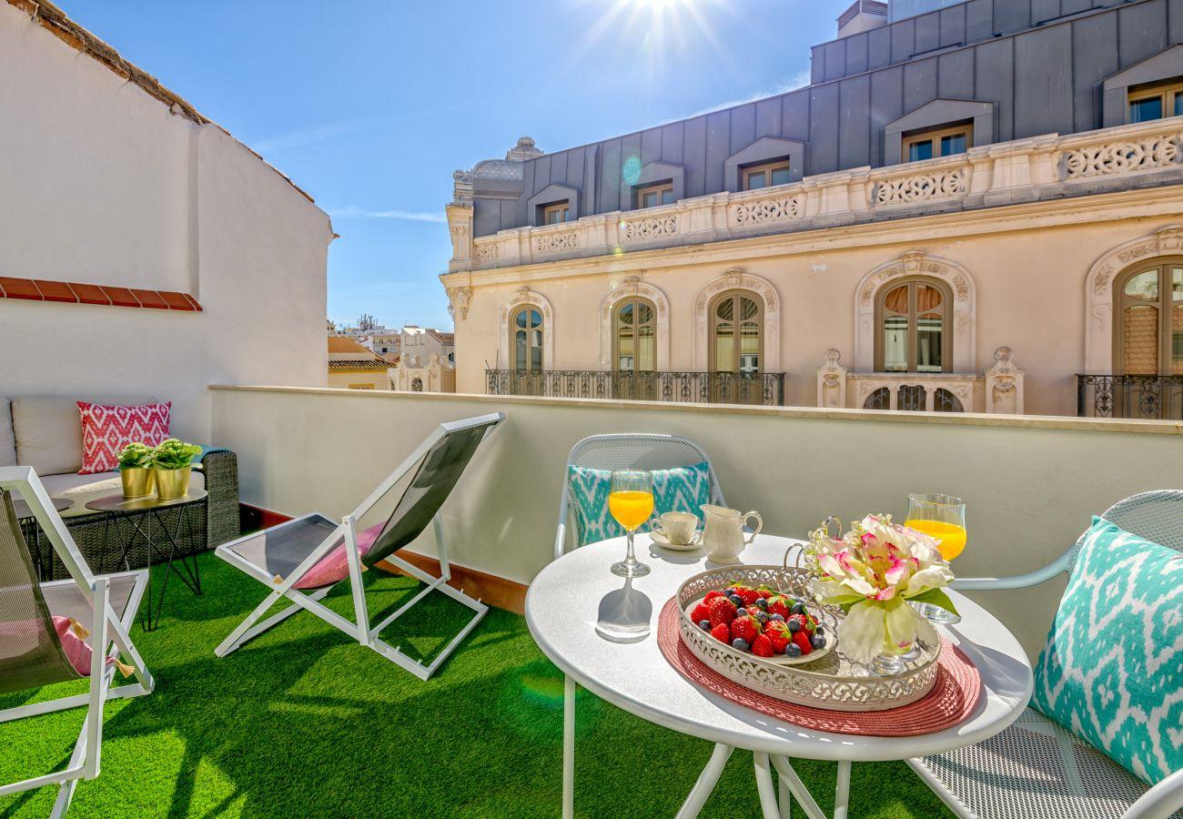 Apartment in Málaga - iloftmalaga Ático Sebastian Souviron