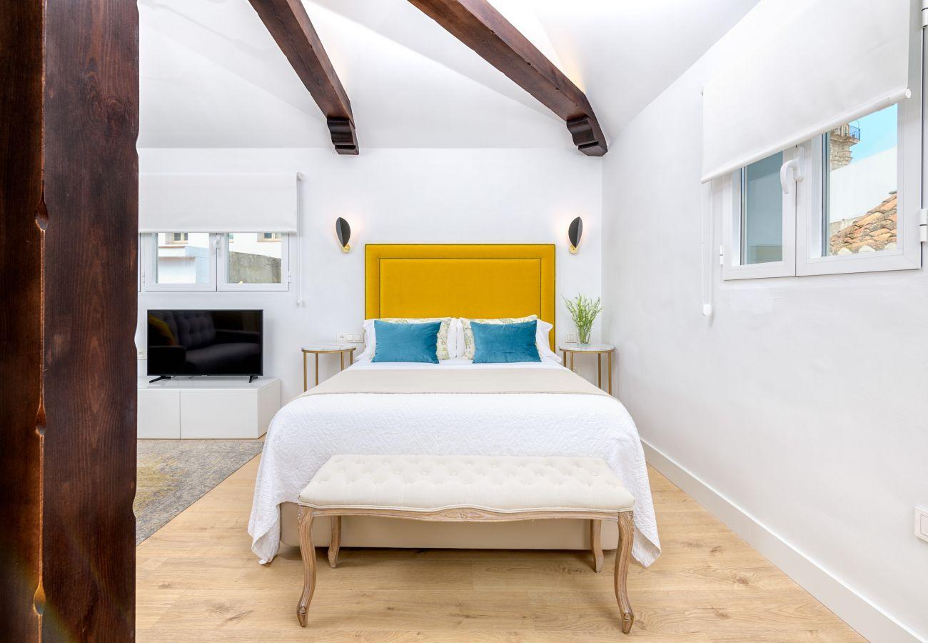 Studio in Málaga - iloftmalaga Calle Nueva Suites VII - Atico con terraza y Jacuzzi