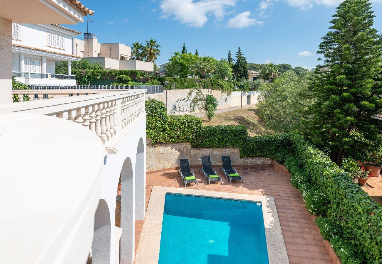 Villa in Palma de Mallorca - Villa with swimming pool in Palma de Mallorca