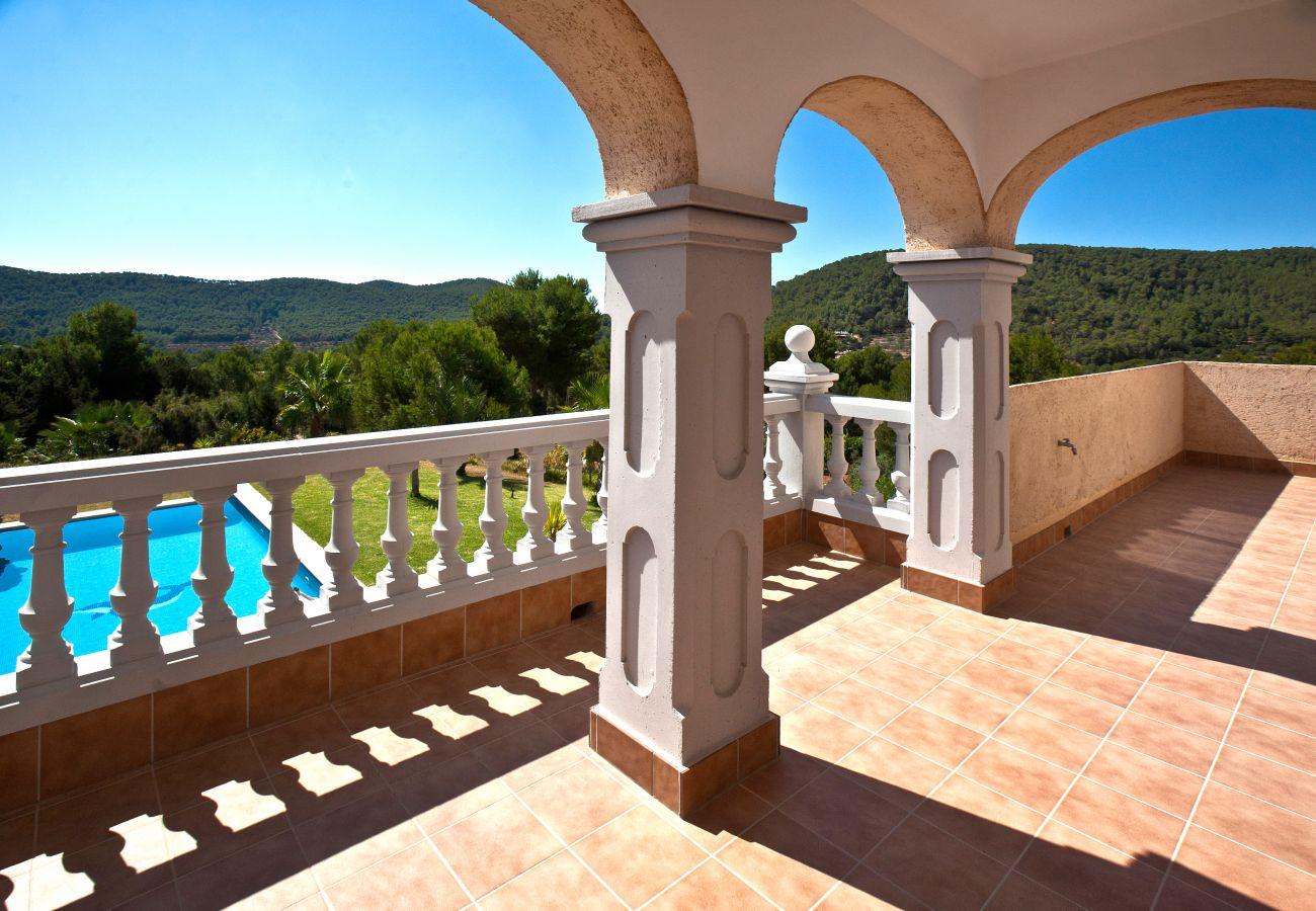 Villa à Ibiza - Villa avec 4 chambres à Ibiza