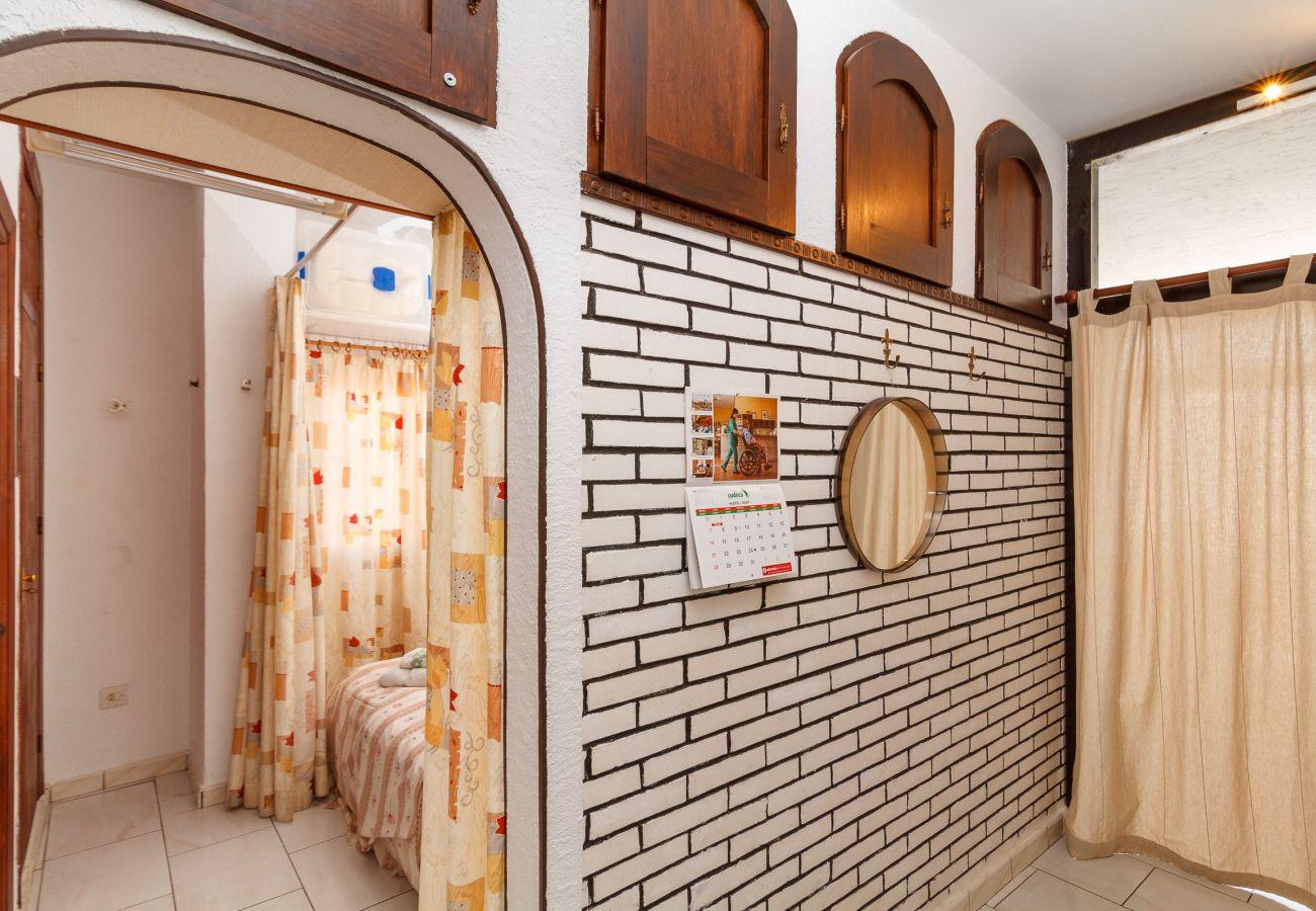 Studio à Nerja - Studio avec 1 chambres à100 mde la plage